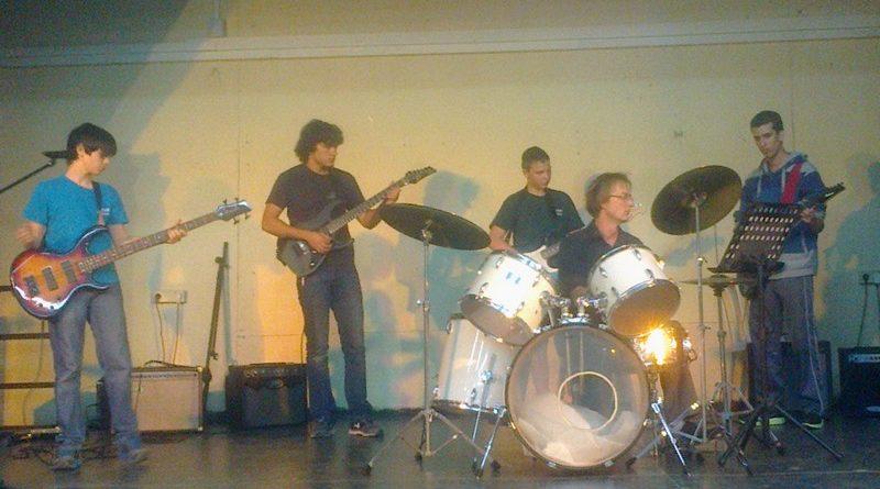 הופעה של תלמידים ממרכז האומנויות