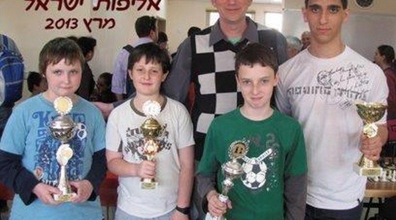 אלוף ישראל בשחמט - נמרוד ויינברג מבית הספר שבח מופת