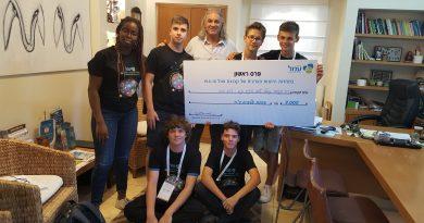 תלמידי שבח מופת זכו במקום ראשון בתחרות יזמות ארצית של רשת עמל
