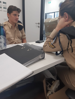 """שנת תש""""פ בסימן שיתוף פעולה עם חיל הים"""