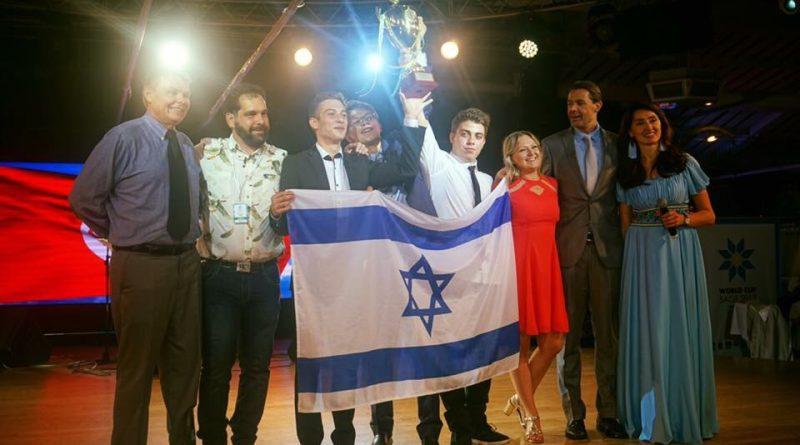 תיכון שבח מופת מחזיק בשיא הזכיות בתחרויות הבינלאומיות