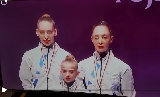ברכות על הזכייה באליפות העולם בהתעמלות – לתלמידת בית ספרנו מיכל סטרטייבסקי !