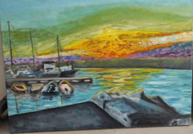 """תערוכת בוגרים מלהיבה באמנות פלסטית תשפ""""א"""